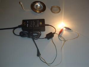 Проверка лампочки