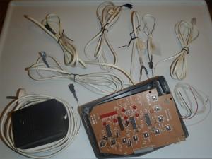 Душевой контроллер - элементы
